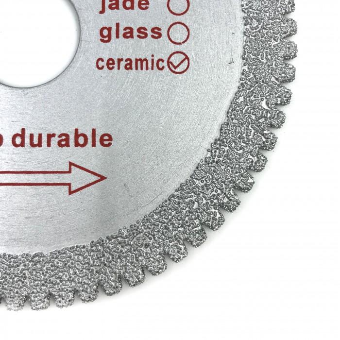 Отрезной диск D 110x1x 22,2 зубчатая кромка