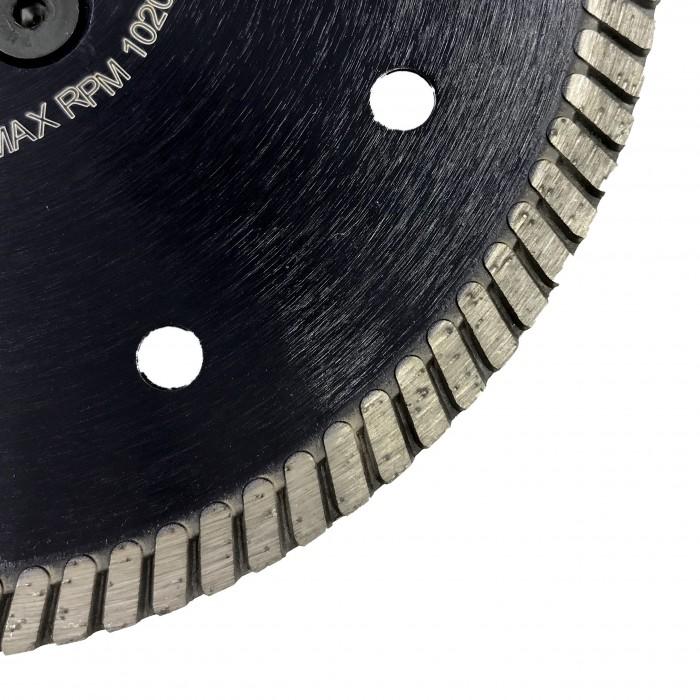 Отрезной диск D150*2,4*7 M14 с фланцем, DS турбо по граниту Sorma