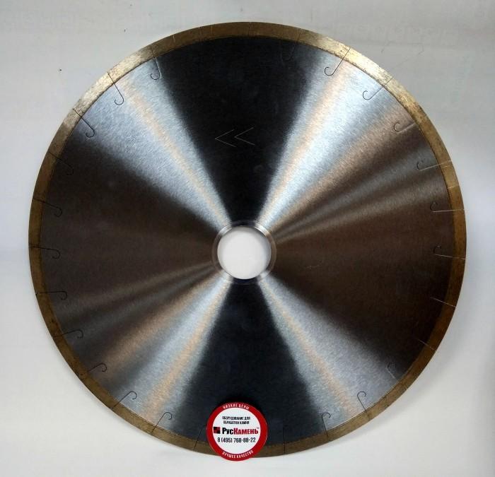 Отрезной диск D400*3.2*10 60/50, по мрамору, бесшумный, микропаз, Sorma