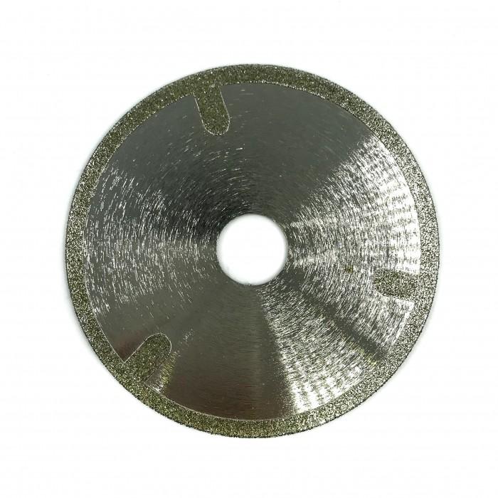 Гальванический отрезной диск со сплошной кромкой