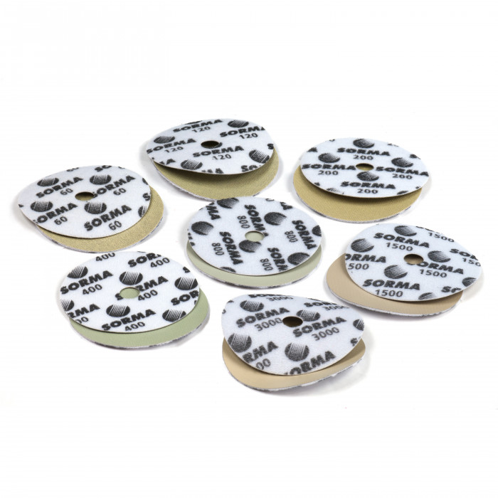 Диски шлифовальные алмазные D115 мм. I-DIA MX H15 QRS 3000 Sorma