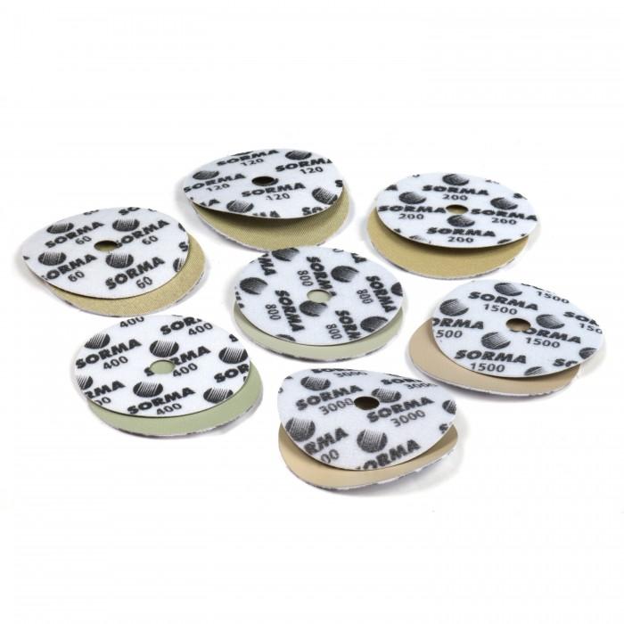 Диски шлифовальные алмазные D115 мм. I-DIA MX H15 QRS 400 Sorma