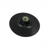 Тарелка под черепашки, без водного охлаждения, D115, М14, черная, пластиковая