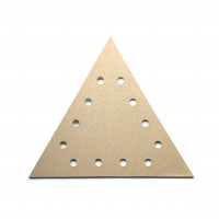 Комплект треугольных фибродисков 300х250 зерн. 220