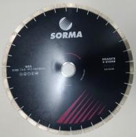 Отрезной диск D500*60/50, H15, гранит, бесшумный