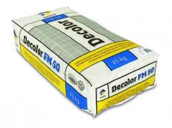 Decolor FM50 09 затирка для швов, черный, 25 кг.