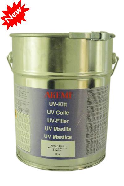 UV шпатлевка Thassos 10 кг жидкая прозрачная