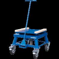 Поворотный передвижной стол для тяжелых изделий