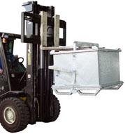 Разборный перекидной контейнер для отходов 1250*1250*1000