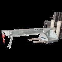 Стрела для погрузчика 4 колена, длина 3450 мм, 2500 кг