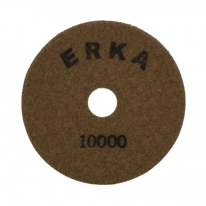 Гибкие шлифовальные диски для работы без подачи воды D100 зерн. 10000 ERKA
