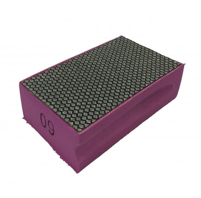 Губка с алмазным покрытием 90*55 зерн.60  RK010021XD