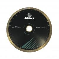 Отрезной диск D500*60/50, H20, кварцит/гранит, бесшумный