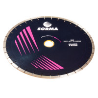 Отрезной диск D500*40*4.2  60/50, H15, гранит, бесшумный
